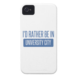 I'd rather be in University City iPhone 4 Covers