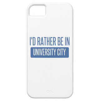 I'd rather be in University City iPhone 5 Case