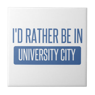 I'd rather be in University City Tile