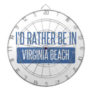 I'd rather be in Virginia Beach Dartboard