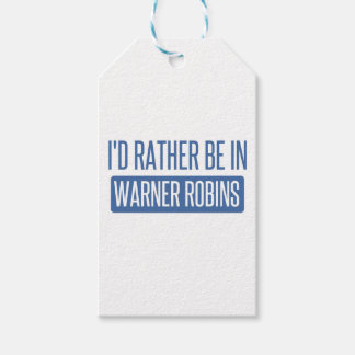 I'd rather be in Warner Robins Gift Tags