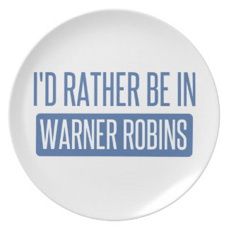 I'd rather be in Warner Robins Plate