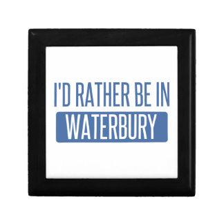I'd rather be in Waterbury Keepsake Boxes