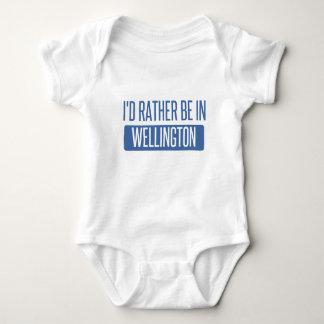 I'd rather be in Wellington Baby Bodysuit