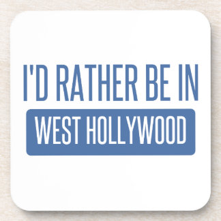 I'd rather be in West Hollywood Coaster
