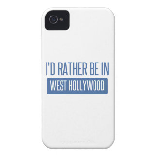I'd rather be in West Hollywood iPhone 4 Case-Mate Cases
