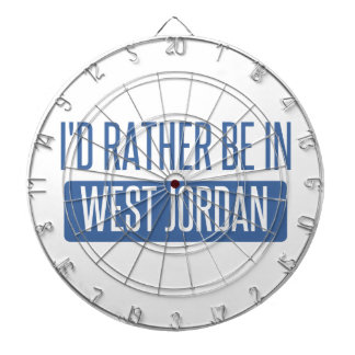 I'd rather be in West Jordan Dartboard