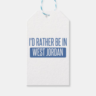 I'd rather be in West Jordan Gift Tags