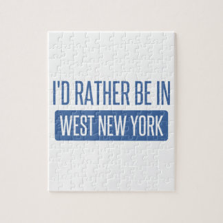 I'd rather be in West New York Puzzle