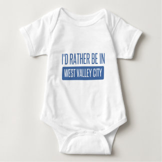 I'd rather be in West Valley City Baby Bodysuit