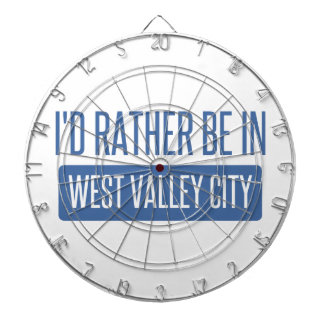 I'd rather be in West Valley City Dartboard