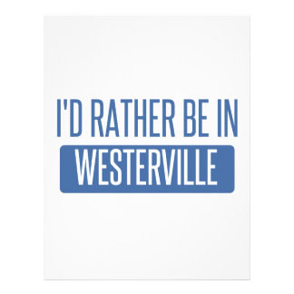 I'd rather be in Westerville Letterhead