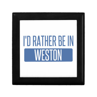 I'd rather be in Weston Gift Box