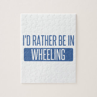I'd rather be in Wheeling Jigsaw Puzzle