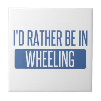 I'd rather be in Wheeling Tile