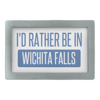 I'd rather be in Wichita Falls Belt Buckles