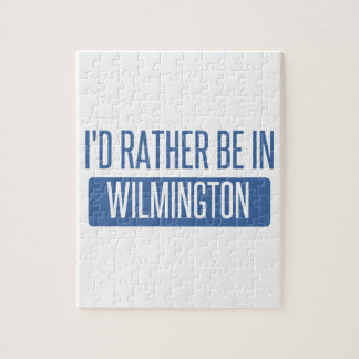 I'd rather be in Wilmington DE Jigsaw Puzzle