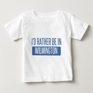 I'd rather be in Wilmington NC Baby T-Shirt