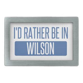 I'd rather be in Wilson Belt Buckles