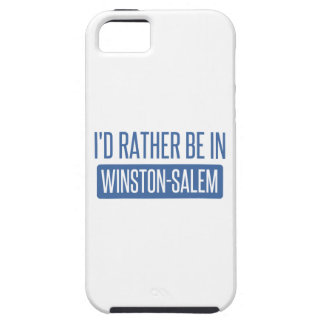 I'd rather be in Winston-Salem iPhone 5 Case