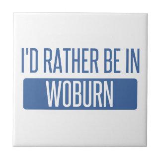I'd rather be in Woburn Tile