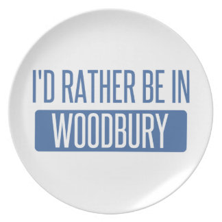 I'd rather be in Woodbury Dinner Plates