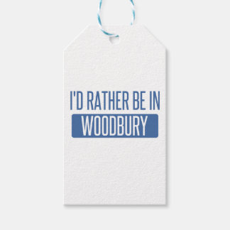 I'd rather be in Woodbury Gift Tags