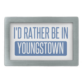 I'd rather be in Youngstown Belt Buckle