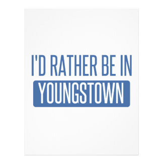 I'd rather be in Youngstown Letterhead
