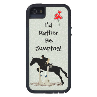 I'd Rather Be Jumping! Horse iPhone 5 Case