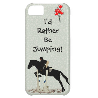 I'd Rather Be Jumping! Horse iPhone 5C Covers