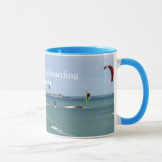 I'd rather be kite boarding - personalised mug