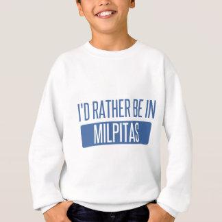 """I'd rather be""""Milford""""CT""""CONNECTICUT""""Milf Sweatshirt"
