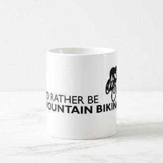 I'd Rather Be Mountain Biking Mug