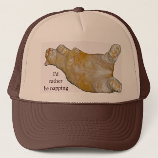 I'd Rather Be Napping Hat