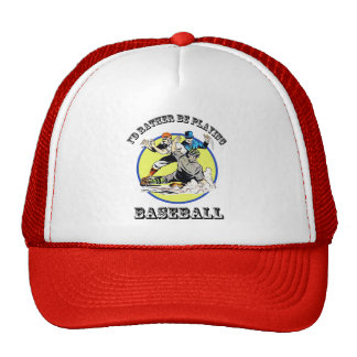 I'd Rather Be Playing Baseball - Trucker Hat