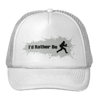 I'd Rather Be Playing Paintball Trucker Hat