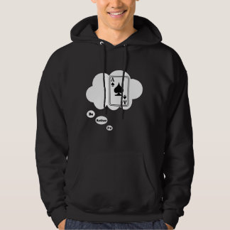 I'd rather be playing Spades Hooded Sweatshirt
