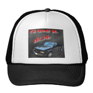 I'd rather be racing hat
