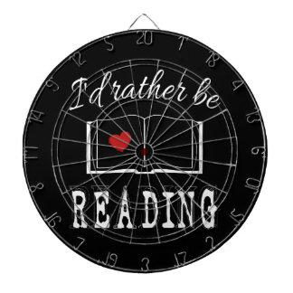 I'd rather be reading dartboard