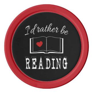 I'd rather be reading poker chips