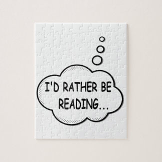 I'd Rather Be Reading Puzzle