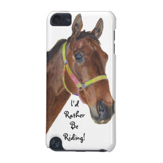 I'd Rather Be Riding! Equestrian Horse iPod Speck  iPod Touch (5th Generation) Cover