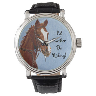 I'd Rather Be Riding! Horse Watch