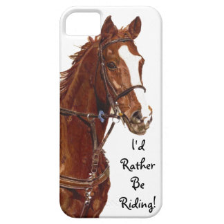 I'd Rather Be Riding iPhone 5 Case