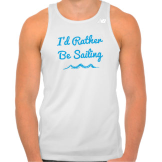 I'd Rather Be Sailing Men's Tank Top