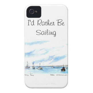 I'd Rather Be Sailing - Monterey California iPhone 4 Cover