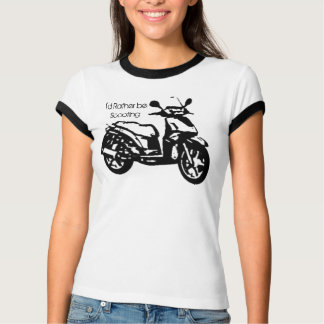 I'd Rather Be Scooting T-Shirt
