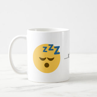 I'd Rather Be Sleeping Emoji Coffee Mug