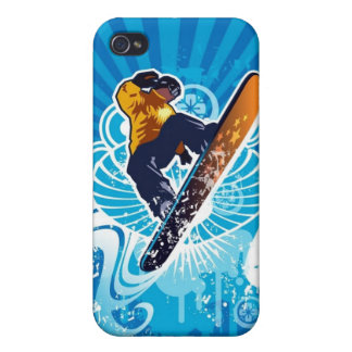 I'd Rather Be Snowboarding iPhone 4 Speck Case Case For iPhone 4
